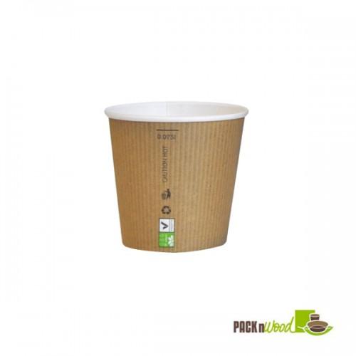 Copo cartão Biodegradável 88ml (Pack 20x50)