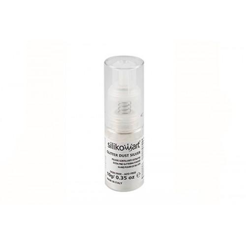 Spray Corante Alimentar Prateado - Silikomar