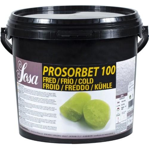 TEXTURA PROSORBET 100 FRIO EST.SORVETES SOSA - 3KG